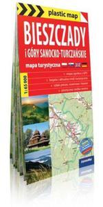 Bieszczady plastic! map foliowana mapa turystyczna - 2857807515