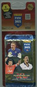 2c44b2f6b Adrenalyn XL FIFA 365 Blister 6 saszetek + 2 karty limitowana seria + 1  karta specjalna Panini