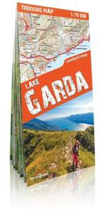 Jezioro Garda (Lake Garda) trekking map laminowana mapa trekkingowa 1:70 000 - 2844186141
