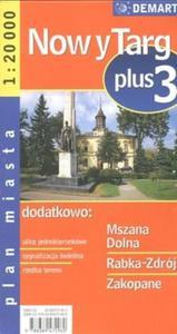 Nowy Targ plus 3 1:20 000 plan miasta - 2825666354