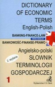 SŁOWNIK TERMINOLOGII GOSPODARCZEJ angielsko-polski 1 BANKOWOŚĆ-FINANSE-PRAWO wyd.2 - 2825666364