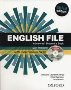 English File Advanced Student's Book +DVD + Oxford Online Skills - 2845919256