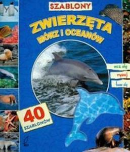 Szablony Zwierzęta mórz i oceanów z 40 szablonami - 2825666612