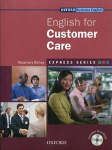 English for Customers Care Student's Book + CD-ROM - 2857814606