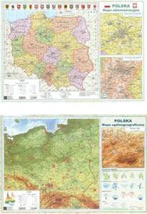 Mapa dwustronna A2 POLSKA - 2857815583