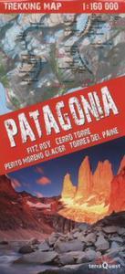 Patagonia trekking map 1:160 000 - 2857818023