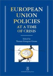 European Union Policies at a Time of Crisis - 2857820352