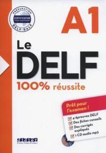 Le DELF A1 100% reussite +CD - 2857820719