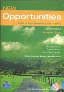 OPPORTUNITIES New Intermediate Student's book - 2825646600