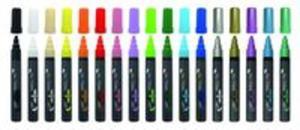 Marker akrylowy czarny - 2851143275