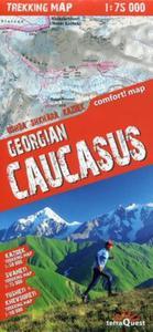 Gruzja Kaukaz mapa trekingowa 1:75 000 - 2857826465