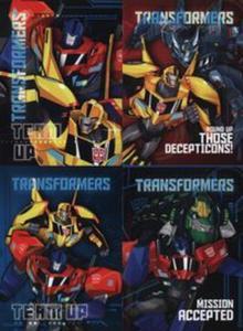 Zeszyt A5 w trzy linie 16 kartek Transformers 15 sztuk mix - 2857826668