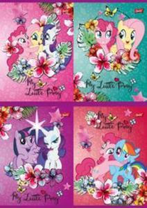 Zeszyt A5 My Little Pony w trzy linie 16 kartek 15 sztuk mix - 2857827452