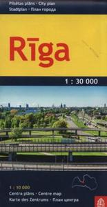 Ryga plan miasta 1: 30 000 - 2857827859