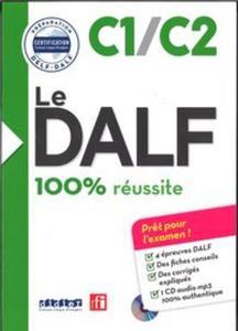DALF 100% reussite C1/C2 książka + płyta MP3 - 2857827951