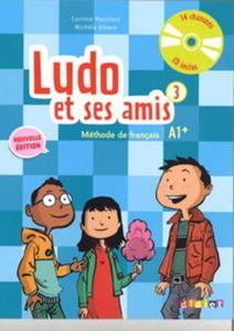 Ludo et ses amis 3 Nouvelle podręcznik + CD audio - 2857828030