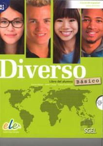 Diverso basico A1+A2 podręcznik + CD MP3 - 2857828179