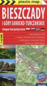 Bieszczady i Góry Sanocko-Turczańskie 1:65 000 mapa turystyczna - 2857829143