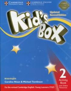 Kids Box 2 Activity Book with Online Resources - 2852652792