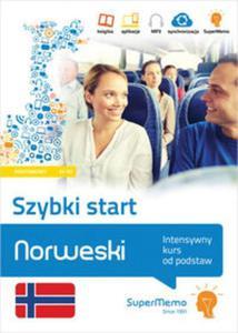 Norweski Szybki start Intensywny kurs od podstaw poziom podstawowy A1-A2 - 2857829691