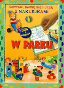 Czytam bawię się i uczę z naklejkami W parku - 2825667591