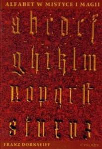 Alfabet w mistyce i magii - 2825667724