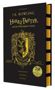 Harry Potter and the Philosopher's Stone Hufflepuff Edition - 2857833784