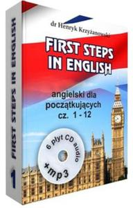 First Steps in English 1 +6CD+MP3 - 2857835564