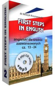 First Steps in English 2 +6CD+MP3 - 2857835565