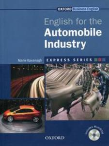 English for the Automobile Industry + CD-ROM - 2857835924