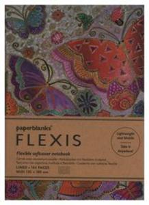 Notatnik Flutterbyes Flexis Midi linia - 2857836591