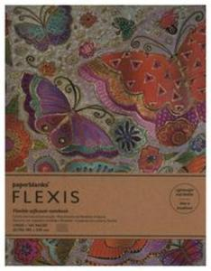Notatnik Flutterbyes Flexis Ultra linia - 2857836599