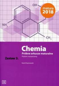 Chemia Próbne arkusze maturalne Zestaw 3 Poziom rozszerzony - 2857839027