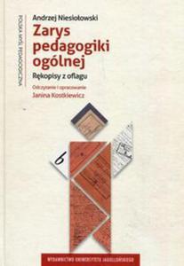 Zarys pedagogiki ogólnej - 2857839561