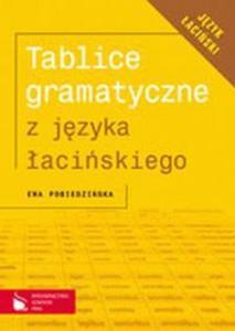 TABLICE GRAMATYCZNE Z J.ŁACIŃSKIEGO PWN 9788374465885 - 2825647191