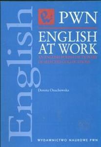 English at Work An English-Polish Dictionary of selected collocations - 2825671653