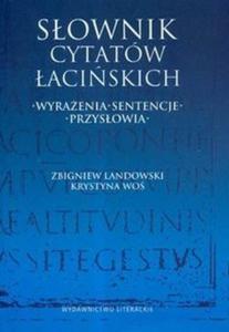 Słownik cytatów łacińskich - 2825674188