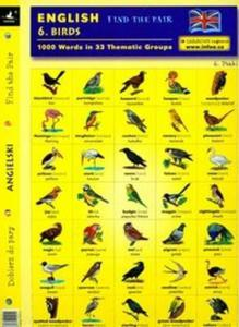 Angielski Dobierz do pary 6 Birds - 2825675153