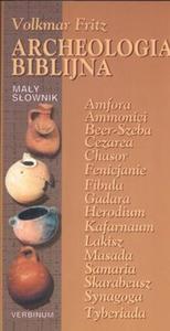Archeologia biblijna Mały słownik - 2825675352