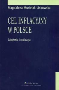 Cel inflacyjny w Polsce założenia i realizacja - 2825675461