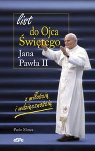 List do Ojca Świętego Jana Pawła II
