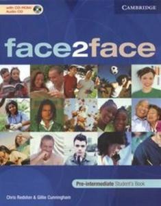 Face2face pre-intermediate students book + CD - 2825648155