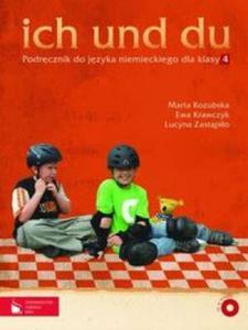 Ich und du. Klasa 4, szkoła podstawowa. Język niemiecki. Podręcznik (+CD) - 2825648195