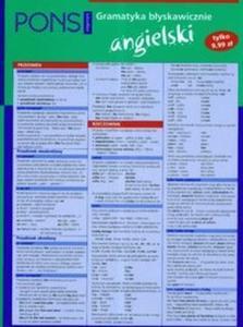 Pons gramatyka błyskawicznie angielski - 2825648499