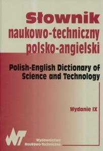 Słownik naukowo-techniczny polsko-angielski - 2825678520