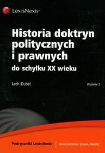 Historia doktryn politycznych i prawnych do schyłku XX wieku - 2825680873