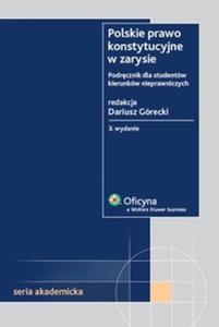 Polskie prawo konstytucyjne w zarysie - 2825682536