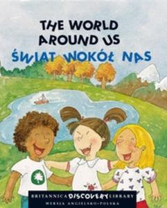 The world around us Świat wokół nas + CD - 2825684919