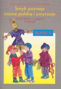 Smyk poznaje mowę polską i zwyczaje 2 Ćwiczenia Część 3 - 2825686807