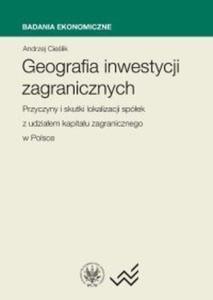 Geografia Inwestycji zagranicznych. Przyczyny i skutki lokalizacji spółek z udziałem...